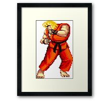 Street Fighter 2 Ken Framed Print