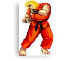 Street Fighter 2 Ken Canvas Print