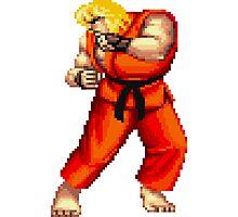 Street Fighter 2 Ken Photographic Print