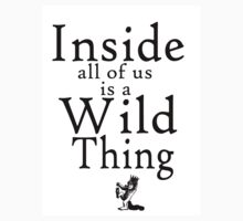 Where the Wild Things Are by geekchicprints