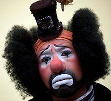 Sad Clown by Johnny Headphones