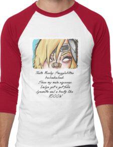 she got them badonkadonks Men's Baseball ¾ T-Shirt