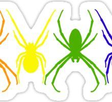 Spider Rainbow Sticker