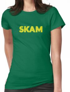 SKAM logo Womens Fitted T-Shirt
