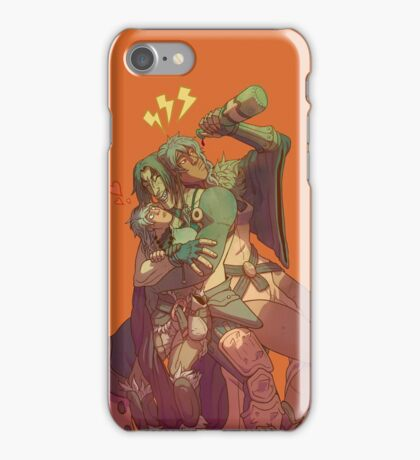 Group Hug with some extreme meh on the side iPhone Case/Skin