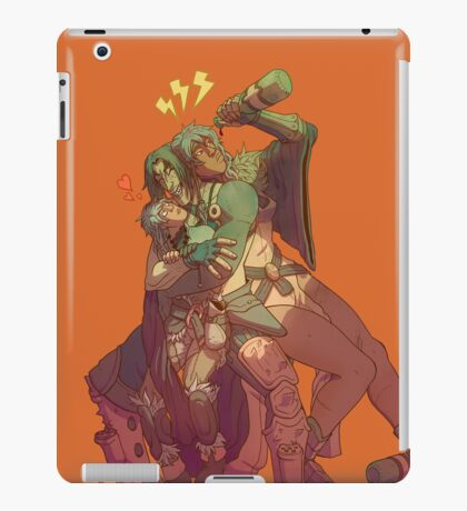 Group Hug with some extreme meh on the side iPad Case/Skin