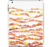 Autumn Valleys Abstract Watercolor Landscape iPad Case/Skin