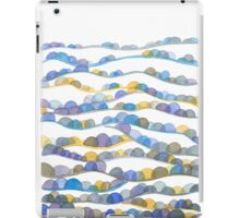 Winter Valleys Abstract Landscape Watercolor iPad Case/Skin
