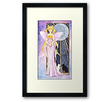 Queen of the Moon Framed Print