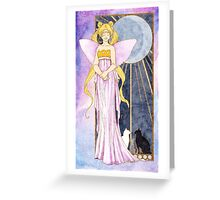 Queen of the Moon Greeting Card