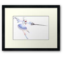 Weiss Schnee Framed Print