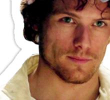 Jamie Fraser Je Suis Prest Flower Crown Sticker