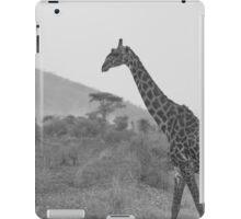 Monochrome Giraffe iPad Case/Skin