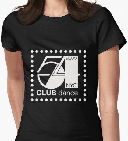 Studio 54 Dance club NYC Womens Fitted T-Shirt