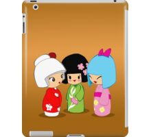 Kokeshi Dolls iPad Case/Skin