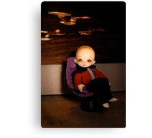 Cute Captain Canvas Print