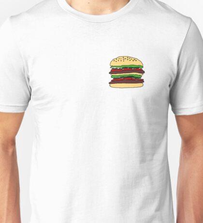 Burger Drawing Unisex T-Shirt