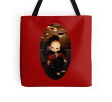Cute Captain (Oval Version) Tote Bag