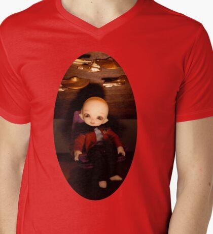 Cute Captain (Oval Version) Mens V-Neck T-Shirt