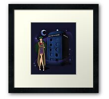 Sailor Time Lord Framed Print