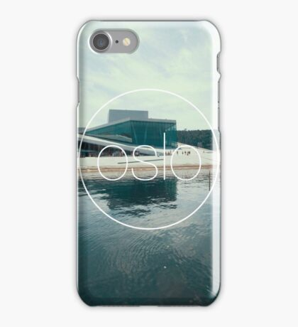 The Opera House - Oslo, Norway iPhone Case/Skin