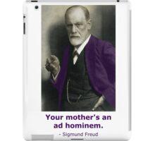 Oedipus Complex (feat. Sigmund Freud) iPad Case/Skin