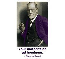 Oedipus Complex (feat. Sigmund Freud) Photographic Print