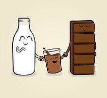 Milk + Chocolate by CottonRobot