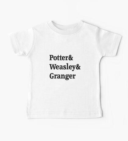 Potter, Weasley, Granger Baby Tee