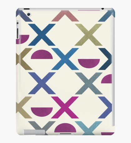 Abstract Unique Pattern iPad Case/Skin
