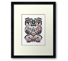 Haida Bear Framed Print