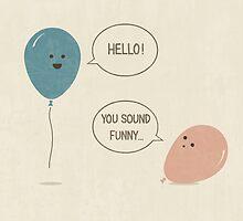 Balloons by Teo Zirinis