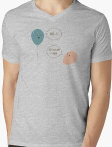 Balloons Mens V-Neck T-Shirt