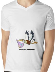 Women's Special Delivery Maternity gift  Mens V-Neck T-Shirt