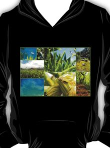 Collage from Portugal (Madeira) 4 - Travel Photography T-Shirt