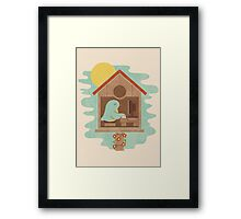 All Seasons Feel The Same Framed Print