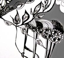 Flower Eyes in Spring Sticker