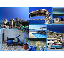 Collage/Postcard from Albania 4 - Travel Photography Photographic Print