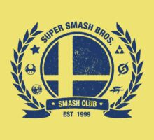 Smash Club (Blue) Kids Clothes