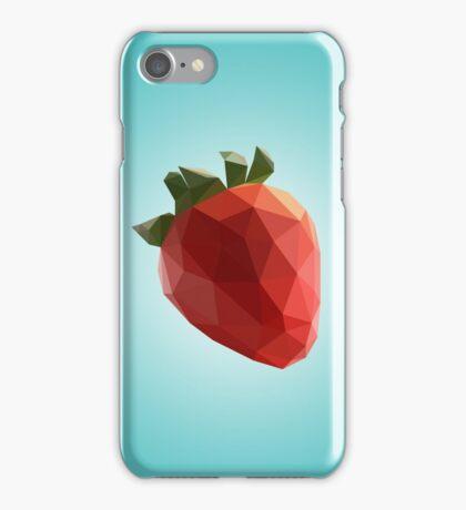 Polygon Strawberry iPhone Case/Skin