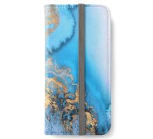 Marble watercolour iPhone Wallet/Case/Skin