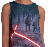 Star Wars - Kylo VS Rey & Finn Contrast Tank