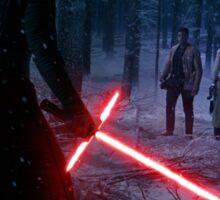 Star Wars - Kylo VS Rey & Finn Sticker