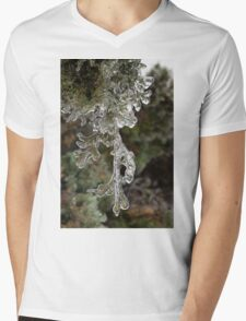 Mother Nature's Christmas Decorations - Cypress Branches Mens V-Neck T-Shirt