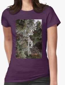 Mother Nature's Christmas Decorations - Cypress Branches Womens Fitted T-Shirt