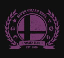 Smash Club Ver. 3 (Purple) One Piece - Short Sleeve