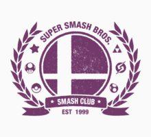 Smash Club Ver. 3 (Purple) One Piece - Long Sleeve