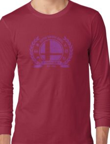 Smash Club Ver. 3 (Purple) Long Sleeve T-Shirt