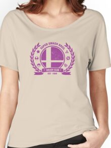 Smash Club Ver. 3 (Purple) Women's Relaxed Fit T-Shirt