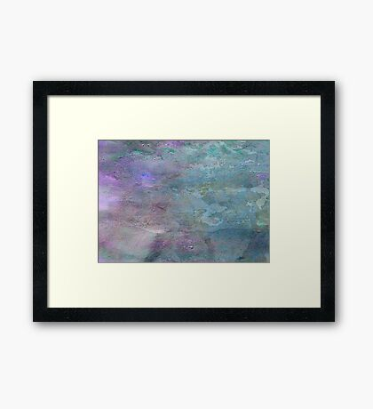 The Light at the End of the Universe  Framed Print